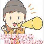 箱根駅伝名物!面白い応援まとめ!フリーザやリラックマに犬まで