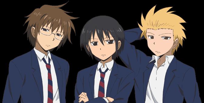 男子高校生の日常名シーン・名言は風以外に?漫画とアニメの違いも!3